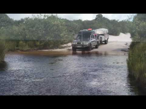 Backtrax Rooftent Camped On The Annie River - Cape York