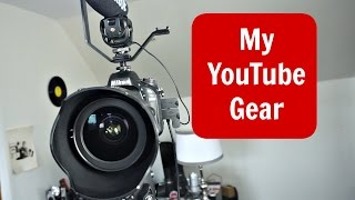 My YouTube Video Gear Setup(My YouTube Video Gear Setup https://youtu.be/bkU1rA8Ro1c In this video, I tell you my ENTIRE YouTube video gear setup. From the feet of the tripod to the top ..., 2015-11-11T05:00:00.000Z)