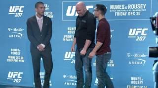 UFC 207 Face offs