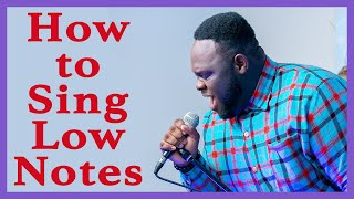 How To Sing Low Notes   Four Reasons you Struggle and How to Improve