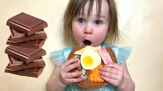 Five Kids Chocolate Challenge Song + more Children's Songs and Videos