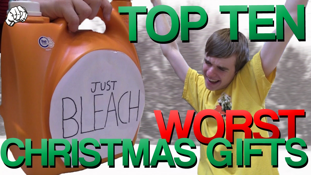 TOP TEN WORST CHRISTMAS GIFTS - YouTube