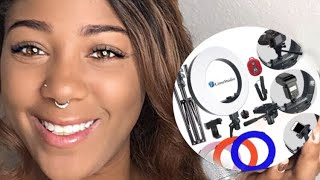 $80 Limo Studio Ring light unboxing  | Why aren't there any  instructions