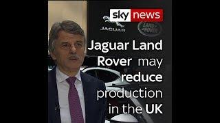 Jaguar Boss Warns Of Cuts In UK Production