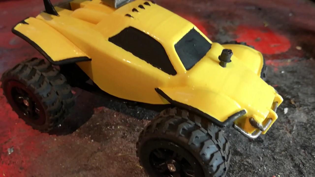 3D Printed Rocket League RC Car - Octane