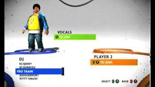 DJ Hero 2 - Character Selection