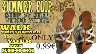 Summer Flip Flop - Step By Step Full Video Guide