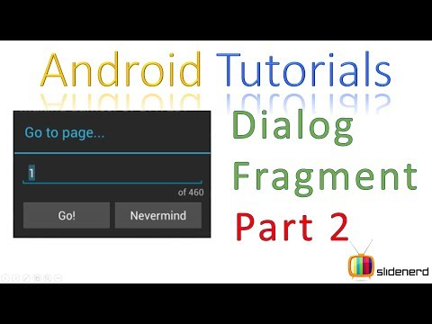 133 Android Dialog Fragment Example |