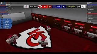 Roblox Legendary Football the Chiefs vs NY Giants