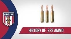 223 Ammo - History