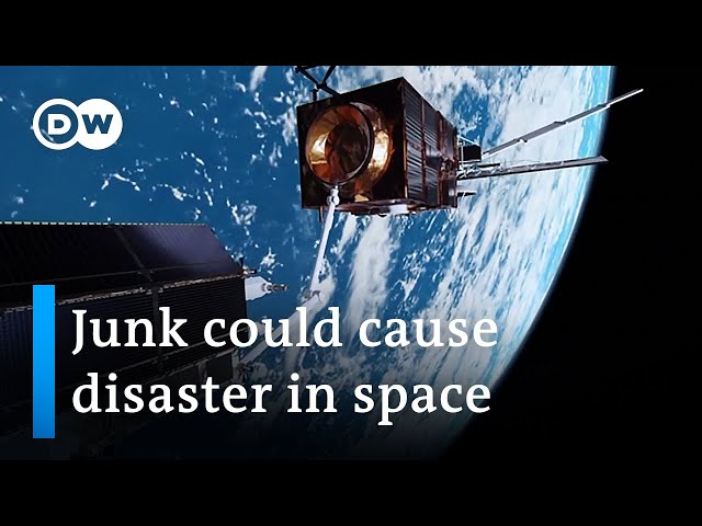 Space junk: Even small fragments have the potential to cause significant damage | DW News