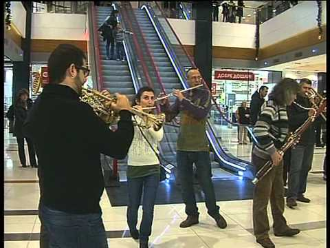 BNT 2 Flashmob - Philharmonic orchestra - Ruse, Bulgaria