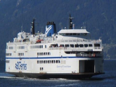 BC Ferries' Horseshoe Bay to Departure Bay (Queen of Cowichan)