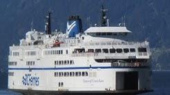 BC Ferries Horseshoe Bay to Departure Bay (Queen of Cowichan)