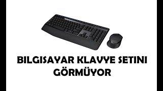 Klavye Mouse Seti Çalışmıyor Bilgisayar Görmüyor