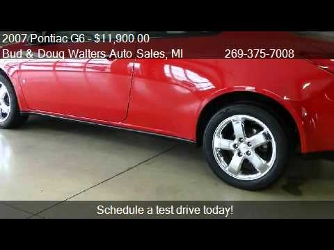 Walters Auto Sales >> 2007 Pontiac G6 Gt Coupe For Sale In Kalamazoo Mi 49006 At