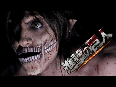 Attack on Titan - Titan Eren Make Up