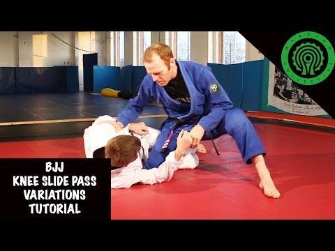 BJJ Variations on the Knee Slide Pass Tutorial