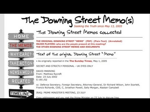 10 Years Since Downing St. Memo: Is It Happening Again?