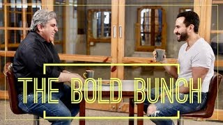 The Bold Bunch: Saif Ali Khan with Rajeev Masand