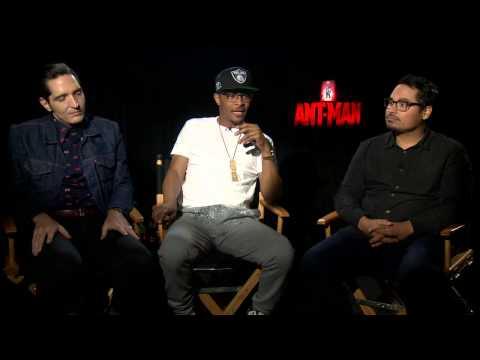 "Marvel's AntMan: Michael Pena ""Luis Pena"" & T.I. ""Dave"" & David Dastmalchian ""Kurt"""