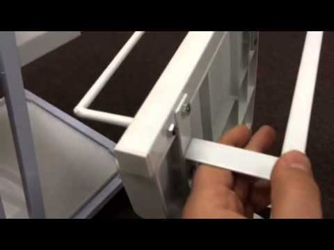 Tips Of How To Assemble SkinAct  Plastic Salon Spa Cart Tro