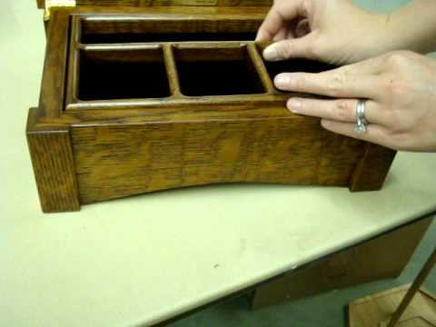 Amish Made Mission Style Jewelry Box from DutchCrafters YouTube
