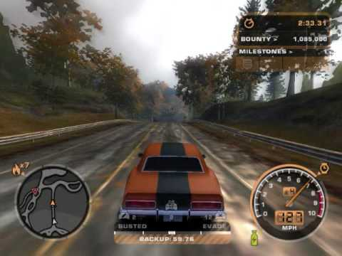 Need For Speed Most Wanted Black Edition Challenge Youtube