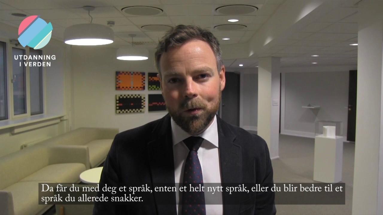 Utdanning i verden - Kunnskapsminister Torbjørn Røe Isaksen