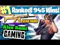 #1 WORLD RANKED - 945 WINS - SPONSOR GOAL 463/500 - NEW UPDATE 1.32 FORTNITE BATTLE ROYALE