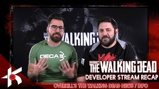 Overkill's The Walking Dead SEASON 2 ROAD MAP BETA NEWS / INFO  [DEVELOPER STREAM RECAP]