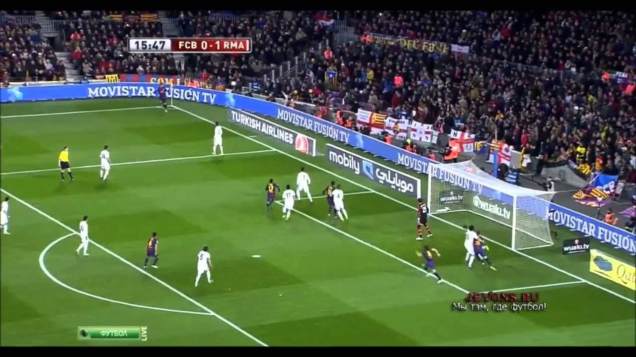 Барселона реал мадрид 1 3 видио