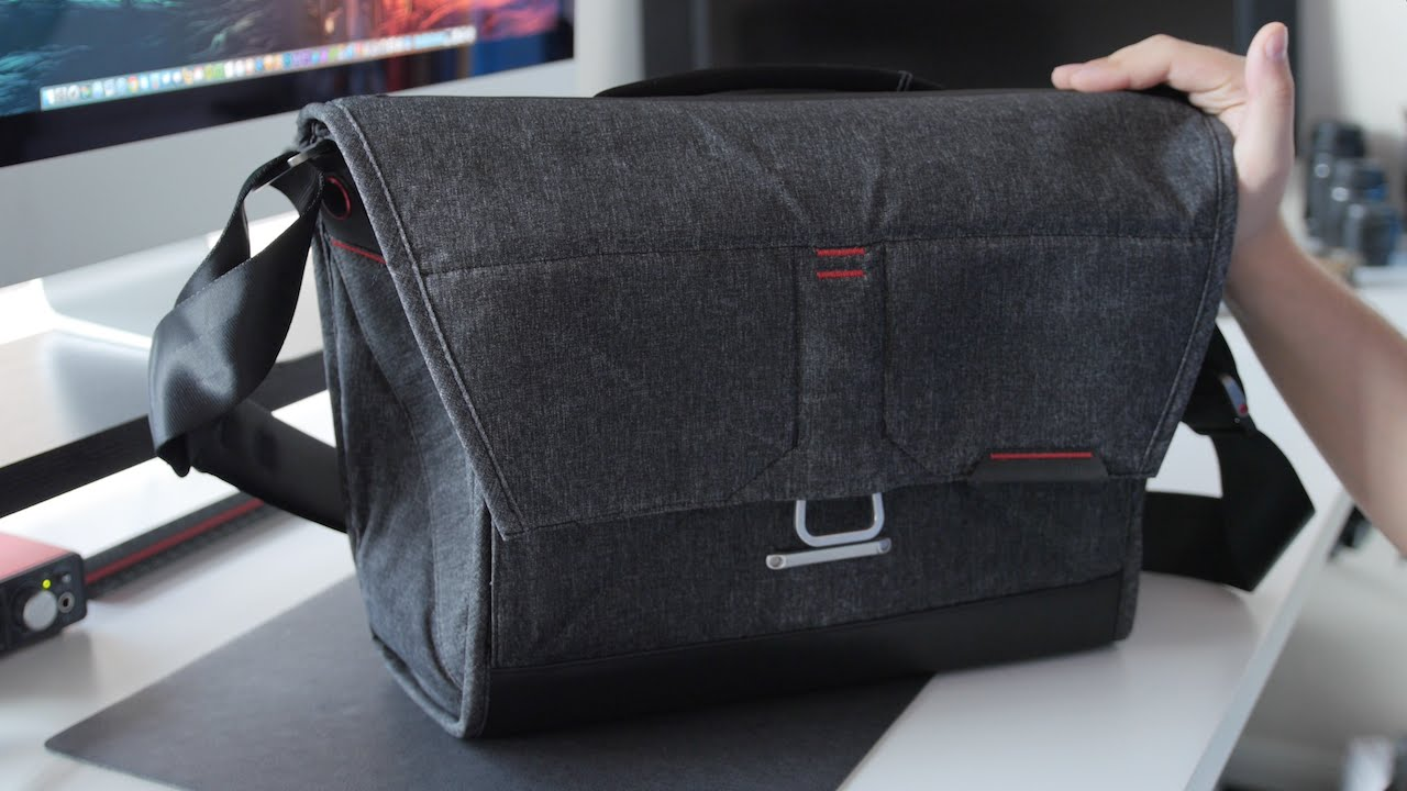 Everyday Messenger Bag By Peak Design [Overview] - YouTube