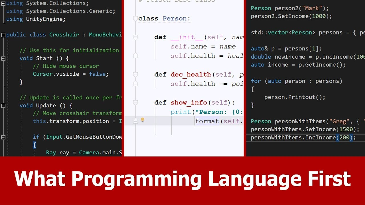 programming language Net supports multiple languages c# is a popular object-oriented language f# supports functional programming vbnet is an approachable english-like language.