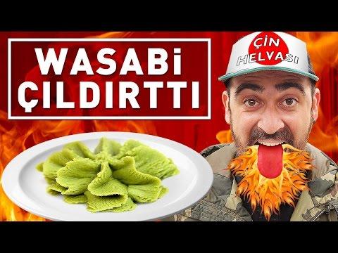 İNSANLARA HELVA DEYİP WASABİ YEDİRDİK ! :) thumbnail