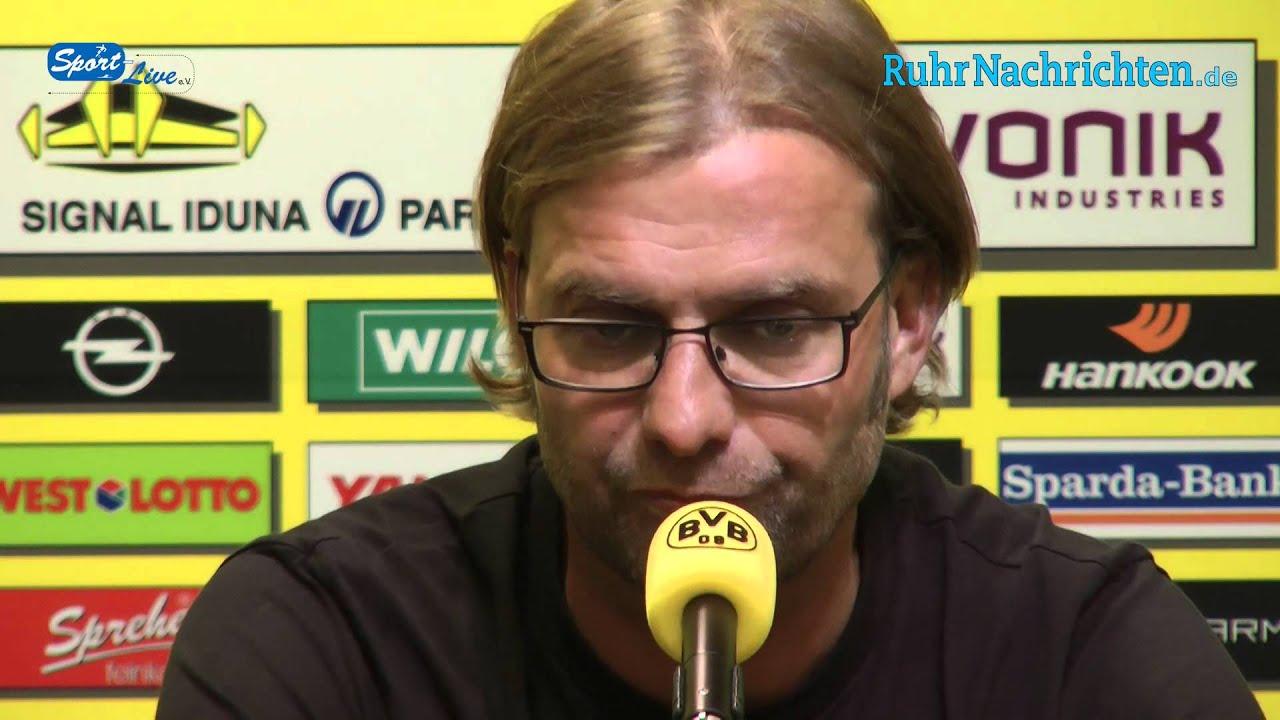 BVB Pressekonferenz vom 22. August 2012 vor dem Eröffnungsspiel Borussia Dortmund gegen Werder Bremen