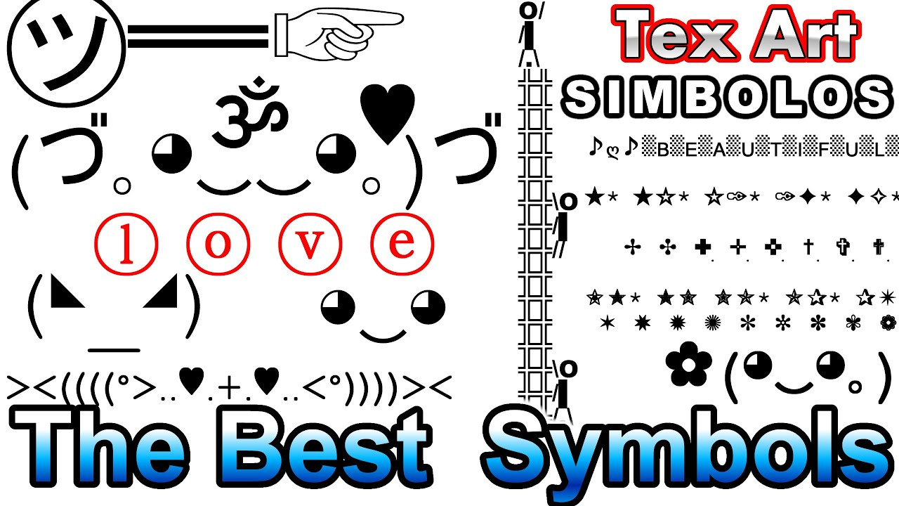 All Cool Text Symbols Clipart Library