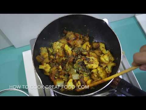 aloo gobi recipe potato cauliflower vegan indian sabzi youtube youtube premium forumfinder Gallery
