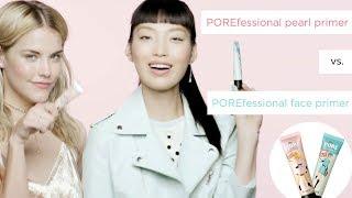 Face Primer Comparison: The POREfessional Pearl Primer vs The POREfessional Face Primer