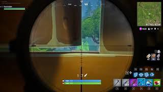 Fortnite | Longest ever sniper shot 270+ meters NEW WORLD RECORD Battle Royale