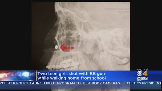 Two Teen Girls Shot With BB Gun While Walking Home From School