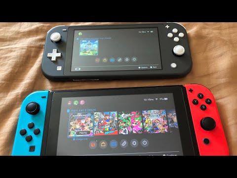 Nintendo Switch LITE Comparison
