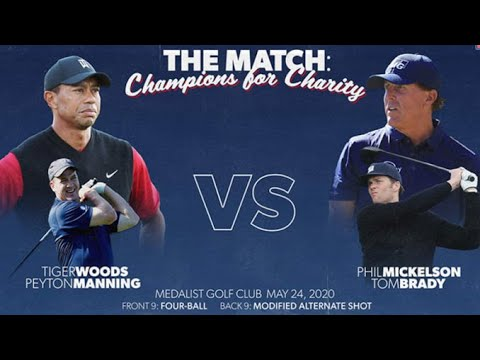 Tiger Woods, Peyton Manning win a TV charity match as good as ...