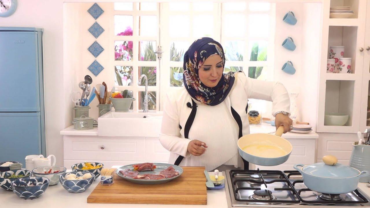 رولات اللحم بالصلصة البيضاء وشوربة البطاطس ببيستو الكزبرة مع اسيا عثمان في مطبخ اسيا (الجزء الاول)