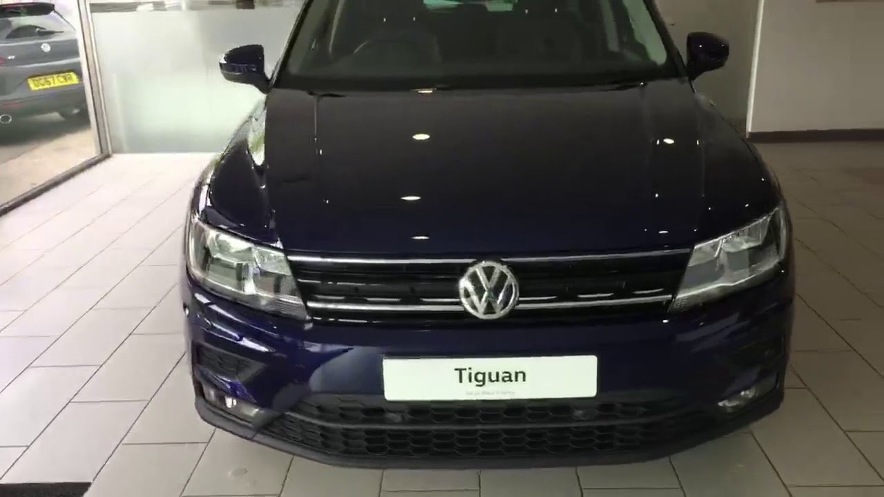 Volkswagen Tiguan Se Nav 1 4tsi 150ps Dsg In Atlantic Blue Metallic Crewe Vw