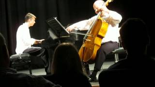 Mendelssohn Duo performing Jewish Song by Ernest Bloch