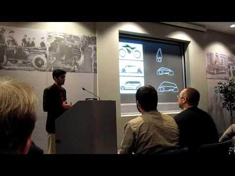 "Nikunj Jain - ""Anthropomorphic vehicles"" Ignite Automotive Presentation"