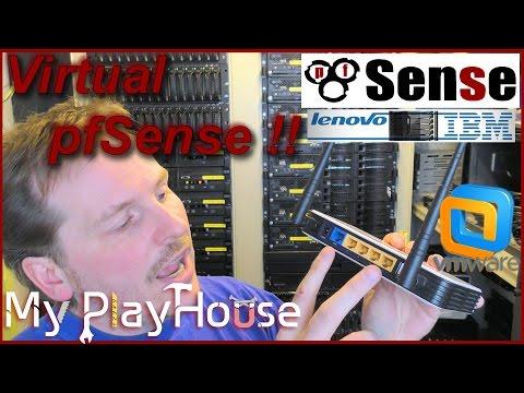 pfSense: How to Setup in DataCenter on VM-ware ESXi - 382