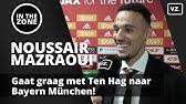 Mazraoui gaat graag met Ten Hag mee van Ajax naar Bayern München!