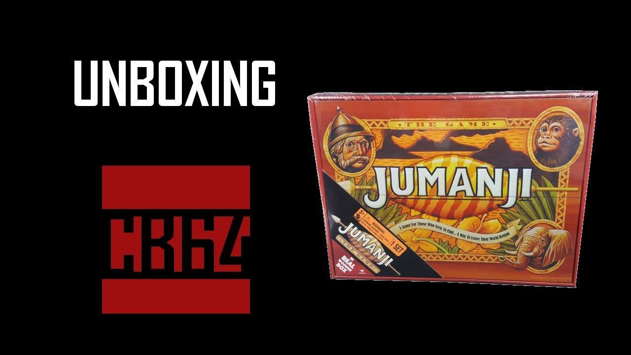 Unboxing Jumanji Board Game Walmart Exclusive